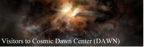 Visitors to Cosmic Dawn Center (DAWN)